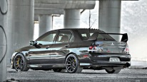 One of The Fast Mitsubishi Lancer Evo IX MR