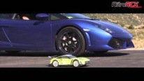 RC Car VS Lamborghini Gallardo - Which one is faster?