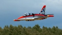 L-39 ALBATROS GIGANTIC RC TURBINE MODEL JET FLIGHT