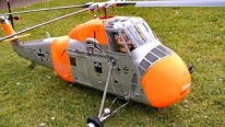 Giant Scale Electric Model Helicopter Sikorsky S-58 (H-34)