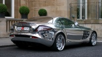 Insanely chromed SLR Mclaren