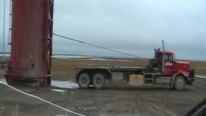 How to load a tank with a winch