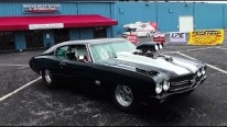 That Is An Awesome BEAST! 1200+hp 1970 Pro Street Chevelle With Nitrous!