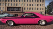 PANTHER PINK 1970 Dodge Challenger 440 - Great Exhaust Sounds!