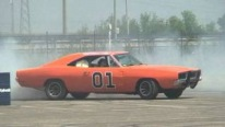 01 Dodge Charger General Lee Drifting