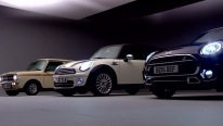 The new Mini Clubman and his predecessors