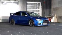 Mitsubishi Lancer EVO X - Blue Dream