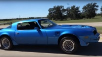 Badass 78 Pontiac Firebird Trans Am Street Machine!