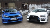 Street Wars: Evo vs STi