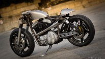 'The Beauty and The Beast' - Custom Harley Cafe Racer
