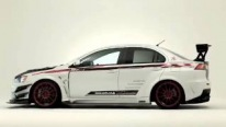 Mitsubishi Lancer Evolution X with Varis Body Kit