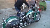 Very RARE! 56 Harley FLH with Original Paint