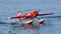 SUKHOI 31 RC Water Plane Flight