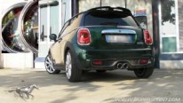 Mini Cooper S F56 sound with Supersprint race muffler