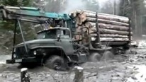"Brutal Truck ""Ural 4320"" Runs Hard Off-Road"