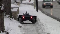 "GENIUS Idea! The Snowplow Robot ""RoboPlow"""