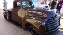 "Chocolate Brown Street Truck ""1952 GMC Street Truck"""