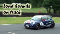 Loud Supercharger Sounds - 2x Modified Mini Cooper S on Track