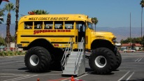 TOO COOL For SCHOOL! 56 Chevy Monster Kool (school) Bus