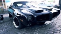 Custom 1972 Pontiac Firebird