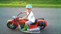 Custom Ride Ons - Red Harley-Davidson Motorcycle For Kids!