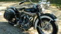 "Extremely Nice With Original Paint - 1949 Harley WL Flathead ""45"""