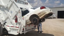 "The Car Killer ""COBRA MAGNUM"" - The Incredible New Garbage Truck That Eats Cars For Breakfast"