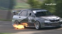 Enormous fire-breather 600 bhp Lancer EVO