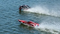 RC Truck Hydroplane vs. RC Boat