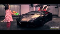 Ironman Lamborghini - Changes The Color By Temperature!