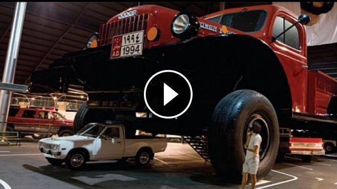 "Meet the World's Biggest Pick up Truck ""1950 Dodge Power"