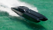 "UNIQUE 2,700HP Corvette Boat ""BATBOAT"""
