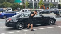 Man Destroys His $200,000+ Mercedes S63 AMG With Golf Club In Front Of Dealership