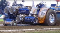 INSANE Tractor Pull With Quad Jet Engines