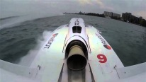 INSANE Jet Powered Power Boat Does HUGE Back Flip