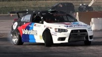RWD Mitsubishi Lancer Evo X - Fantastic Drifting & Loud Backfires