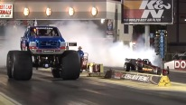 BIG FOOT vs JET CAR - INSANE Drag Race!