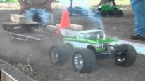 Super Fun with Mini Slash Cars - Finish Line RC Truck Pulling