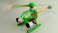 DIY - How to Make Electric Helicopter!