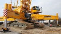 The LR13000 - World's Most Powerful Crawler Crane