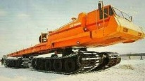 "The World's Largest Tracked ATV Vehicle ""YAMAL"" - Soviet SVG-701"