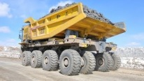 The Largest Chinese-Made Electric Wheel Mining Truck WTW220E
