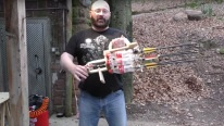 Arrow Storm - Super Cool Coke Battle Gatling Gun Must See!!!