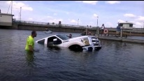 Brand New Ford Pickup Truck Failed and Rolled into Water