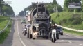 Badass Mad Max Tanker Cruises in Mogilev City