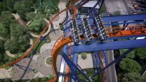 World's Tallest Largest Fastest Valravn Roller Coaster POV Dive Coaster Front Seat View Must See!!!