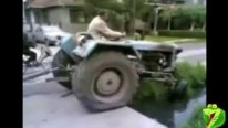 Super Funny Tractor Fail Compilation-Most Idiotic Tractor Drivers Ever!!!