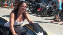 Super Bowl of Biker Chicks - 150 HOT Reasons Why - Daytona Bike Week 2015