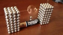 Amazing Buckyballs Electronic Motor in Action