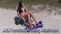 Hoverboard Cart - Hoverboard with Sitting Attachment